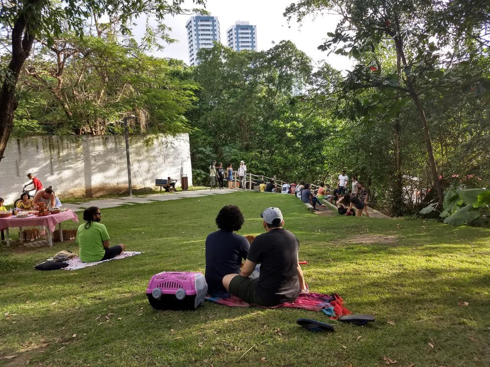 Re-tecer uma cidade através de espaços verdes e públicos