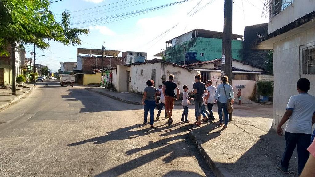 O espaço do pedestre no Recife